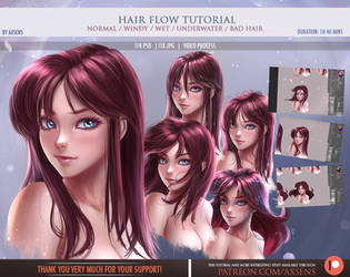 Hair Flow Tutorial by Axsens