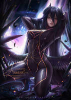 Dark Samus Albedo by Axsens