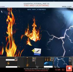 Elemental Tutorial PART 3. Fire and Lightning