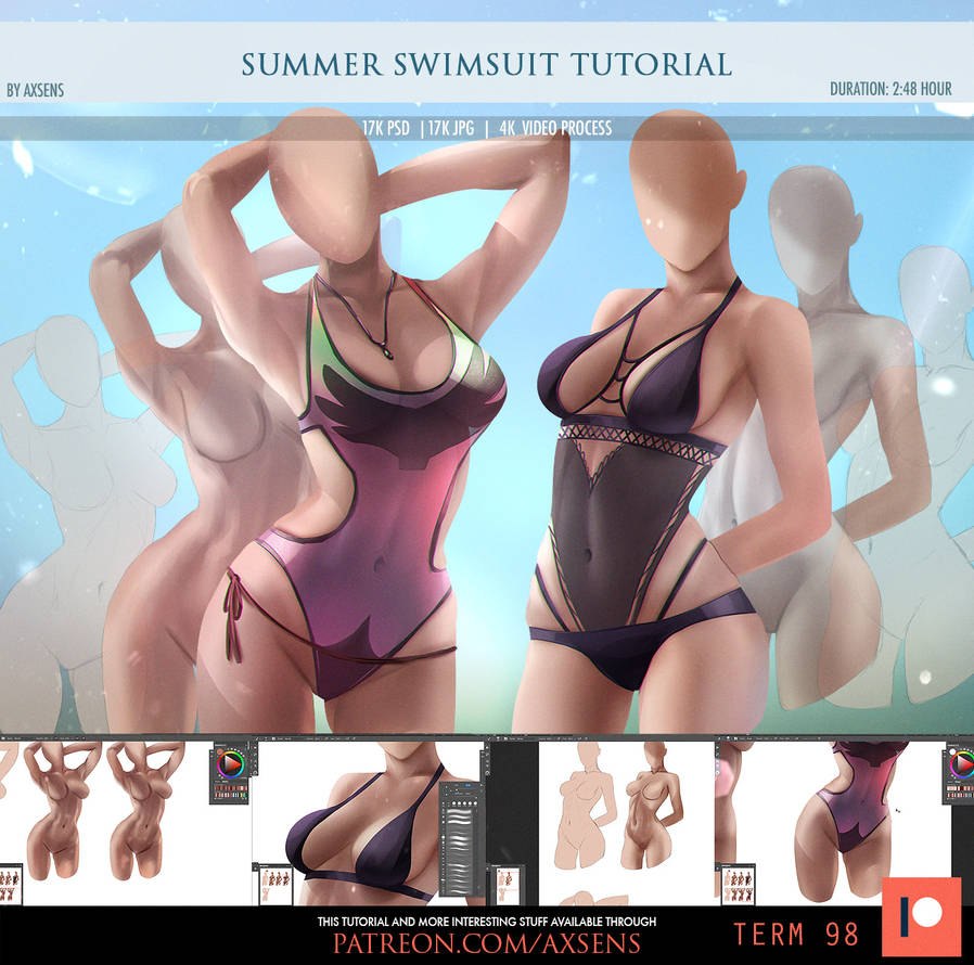 Summer Swimsuit Tutorial