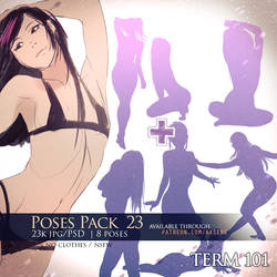 Poses Pack 23