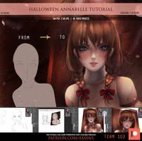 Halloween Annabelle Tutorial