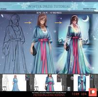 Winter Dress Tutorial