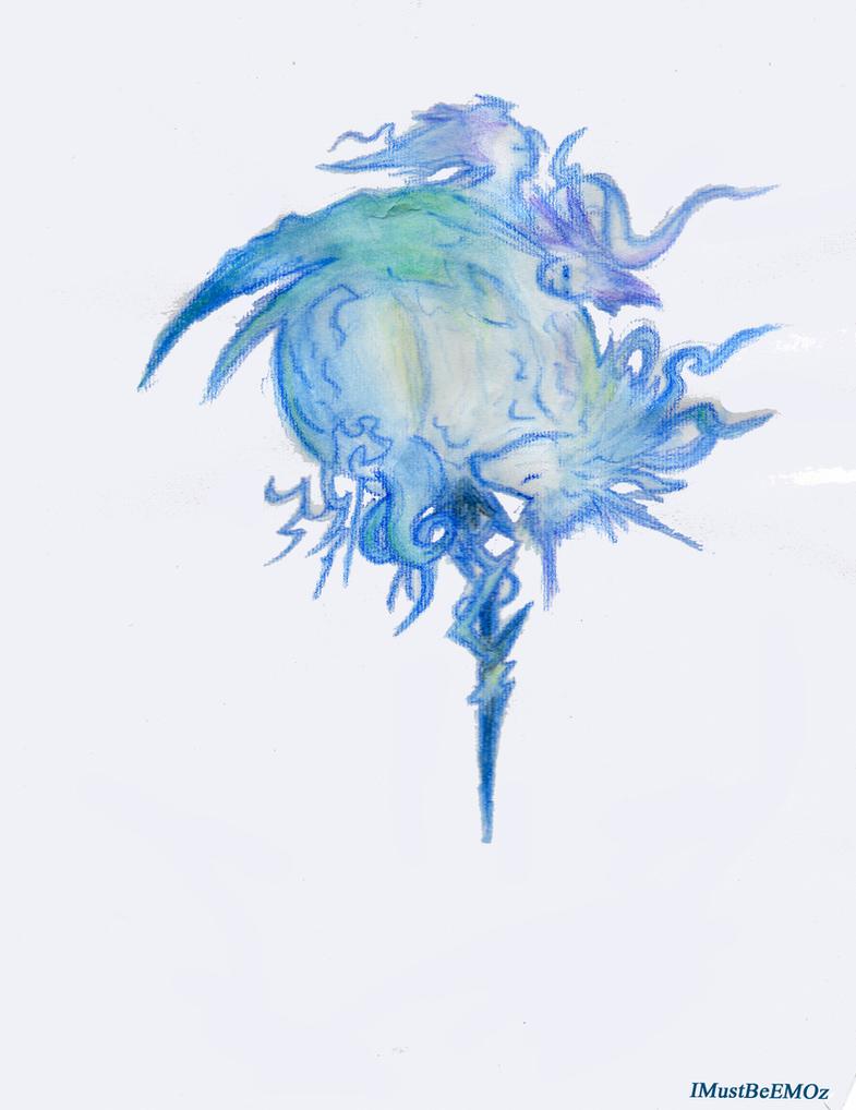 final fantasy logo art
