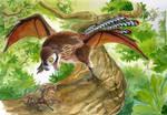 Ambopteryx: the yi-quel by FluffySpiderz