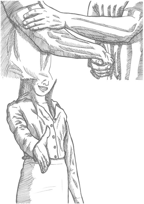 handshake by RyotNytefall