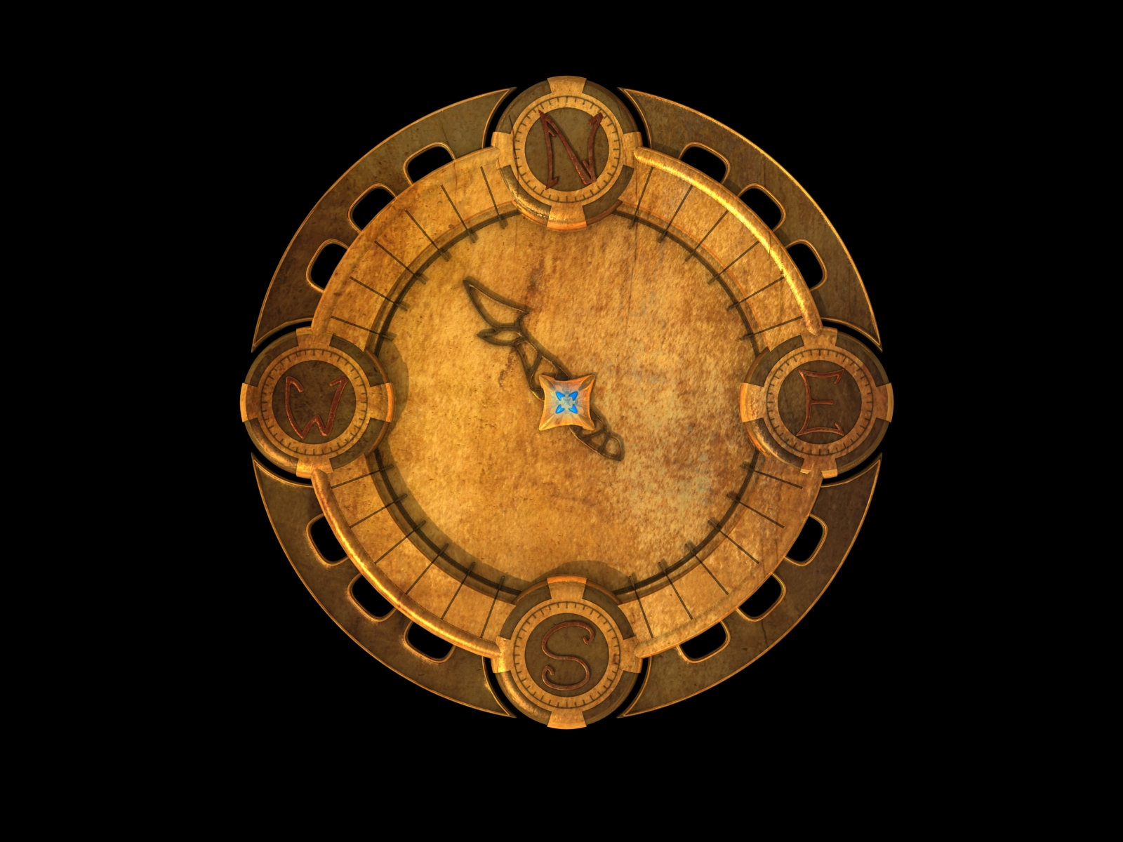 Golden compass by Lordnarunh