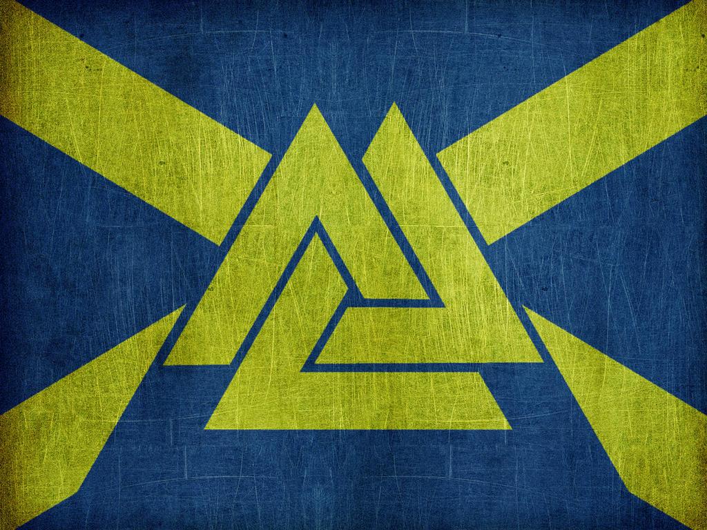 Flag of the Viking Empire v2.0 by Lordnarunh