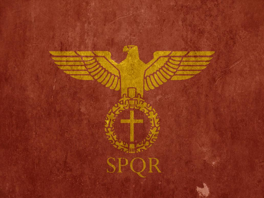 Crimson Empire Roman Empire Flag By Lordnarunh On Deviantart