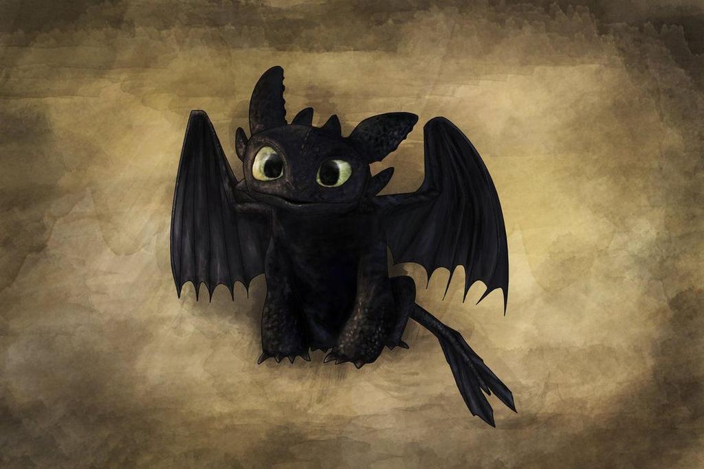 Toothless by Demon-ZonkyWolf