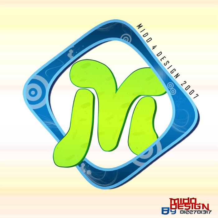 m design logo by mido4design on deviantart. Black Bedroom Furniture Sets. Home Design Ideas