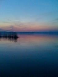 Sunset at Balaton by sirkassy