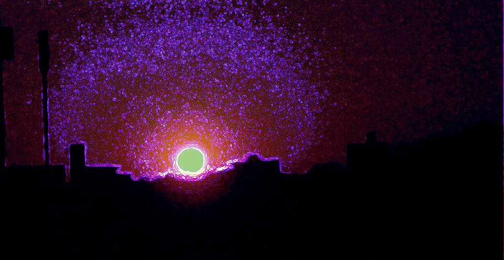 Black Hole Sun by skendle16