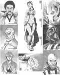 Star Wars Manga Sketch Cards