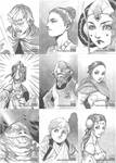 Another Star Wars Sketch Cards