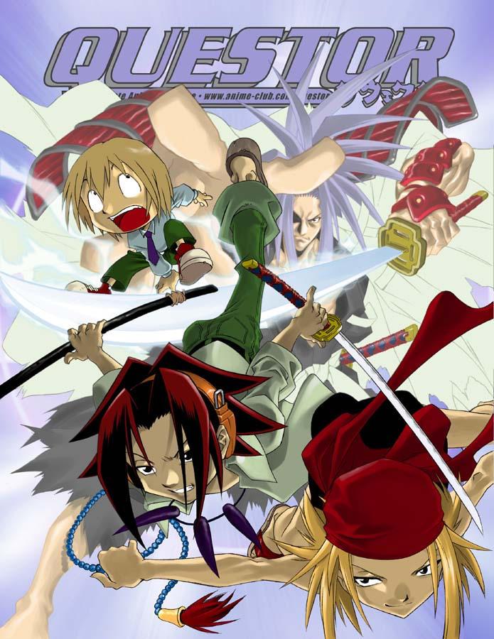 shaman king characters. shaman king characters.