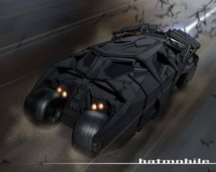 The Batmobile by 2ngaw