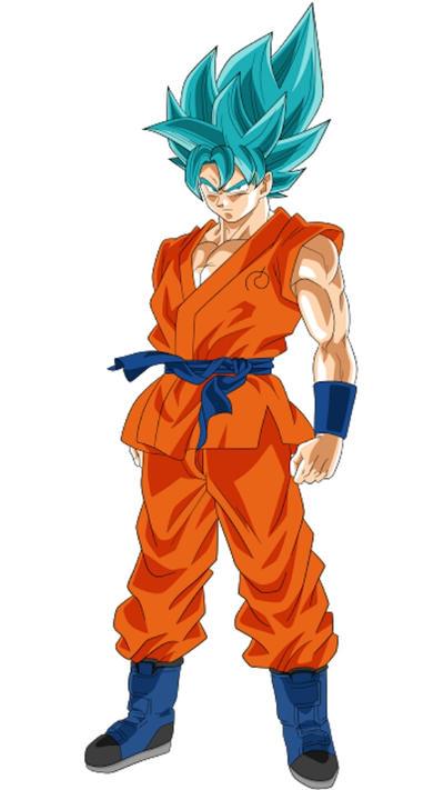 Goku ssgss by Mad-55 on DeviantArt