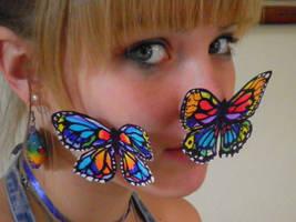 Butterflies by mouette-sky