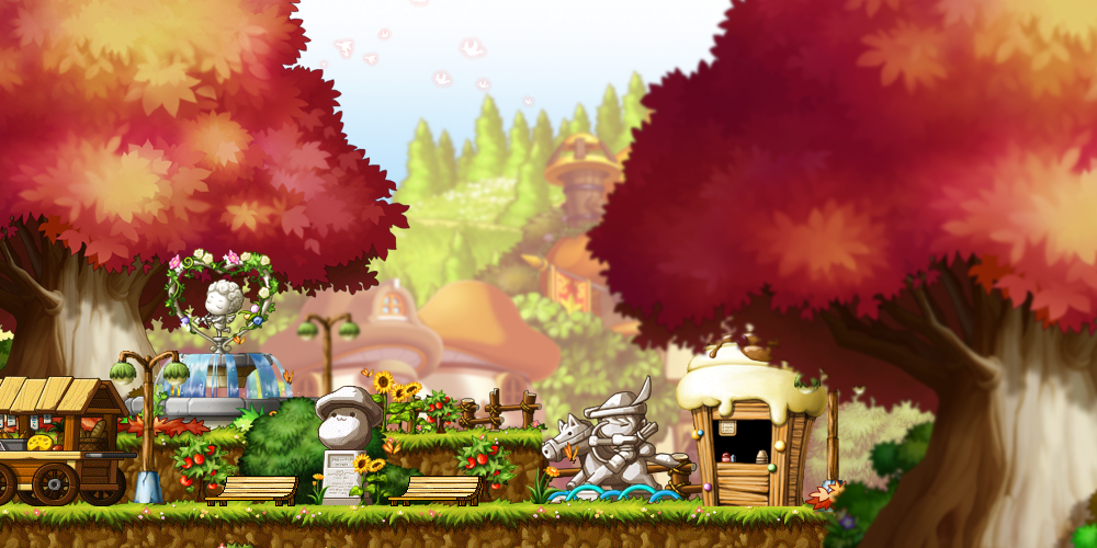 MapleStory Background Park Failed Content By Bboki