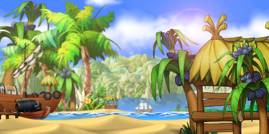 MapleStory Background Summertime Fun By Bboki