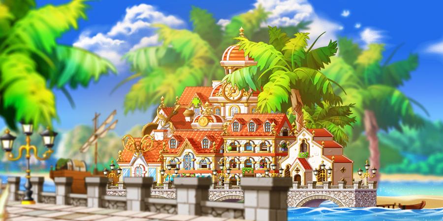 MapleStory Background Ninjad City By Bboki