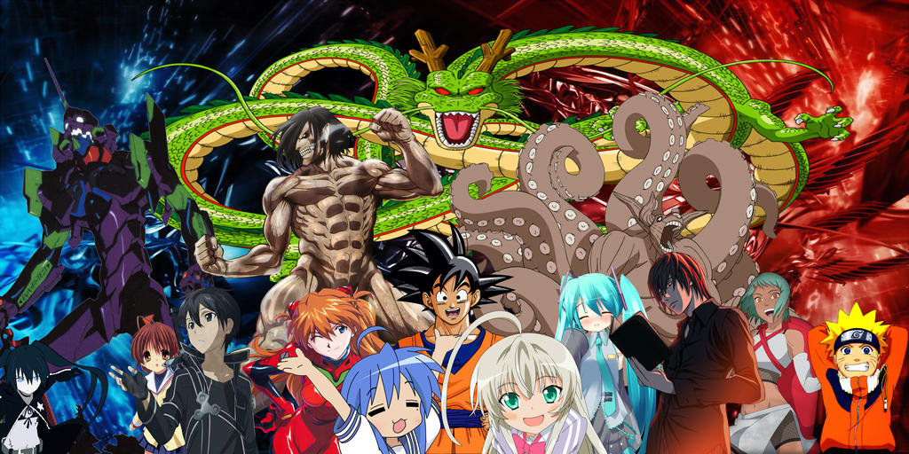 Anime Mix Wallpaper By Cronoz218 Deviantart – Wonderful