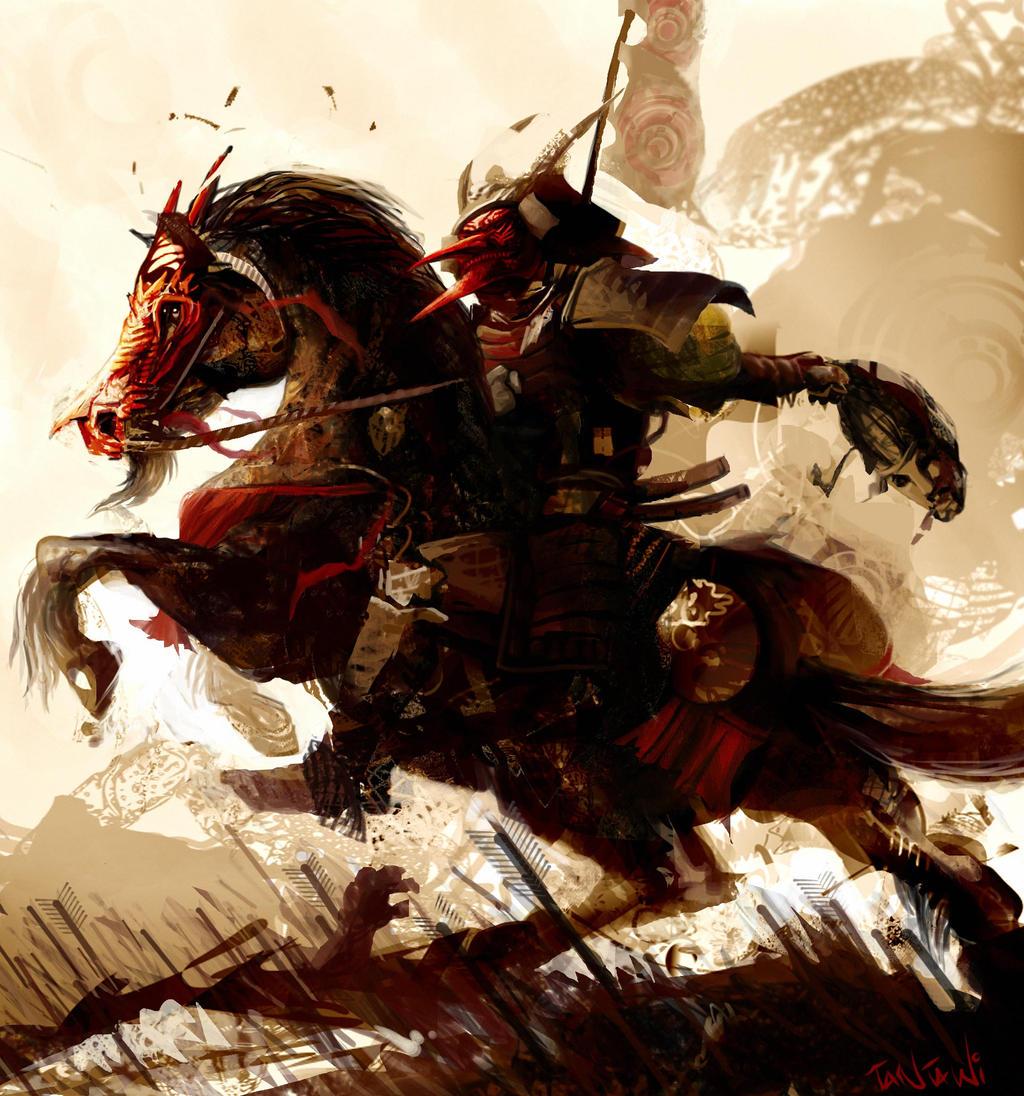 japanese horse art