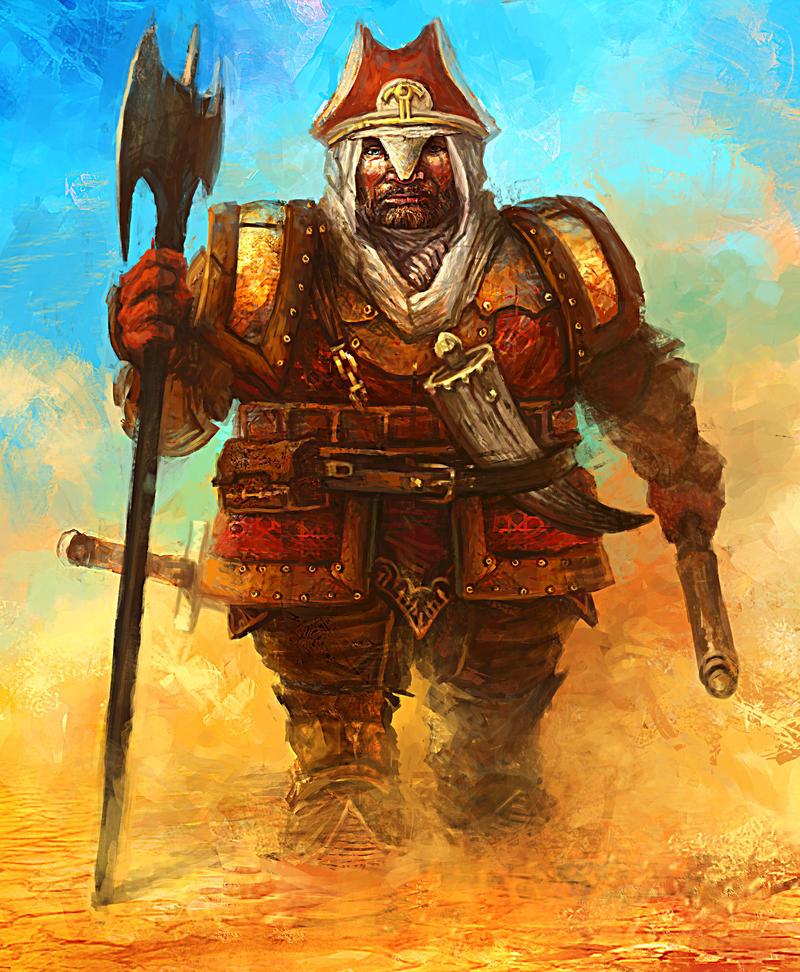 Desert Dwarf by TwoTonne