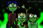 Norman's...friends..