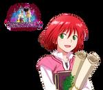 Akagami no Shirayuki-hime:Shirayuki Render