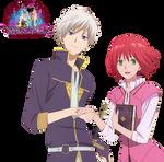 Akagami no Shirayuki-hime:Zen and Shirayuki Render