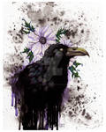 Nevermore - Traditional - Mixed Media