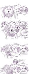 WAKE UP SLEEPY HEAD!! by SilverSoo