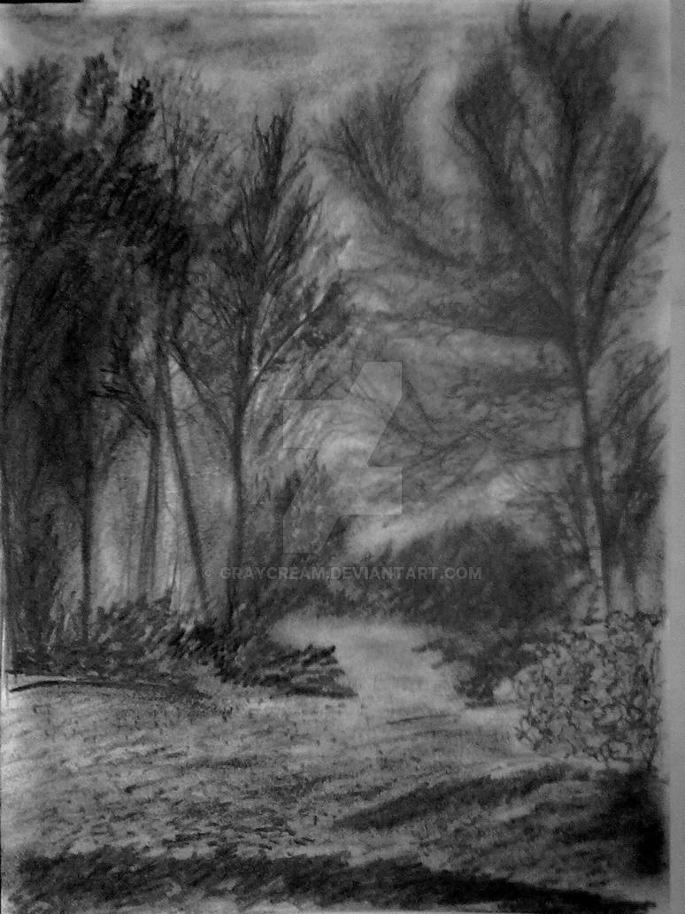 the Park by graycream