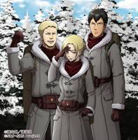 (Snowy) Mountain Trio!