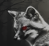 Ghost Fox Icon by 37DeadBones