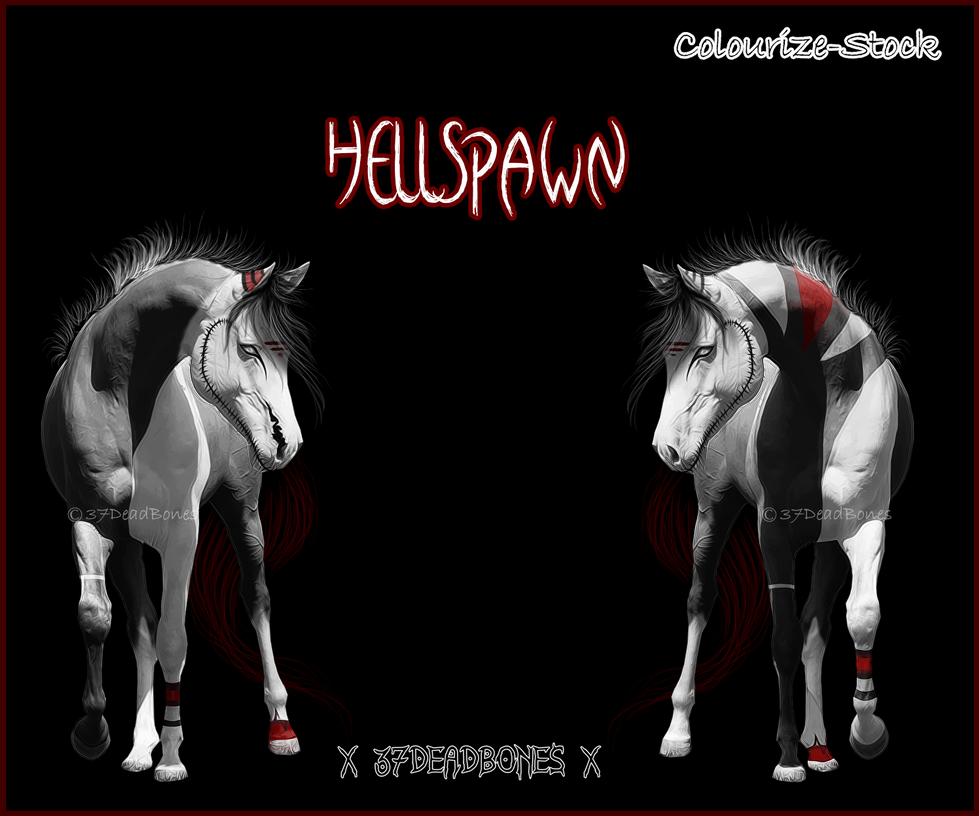  HellSpawn  New Ref by 37DeadBones