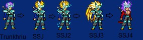 Future Trunks knight armor dragon. by sidneythor