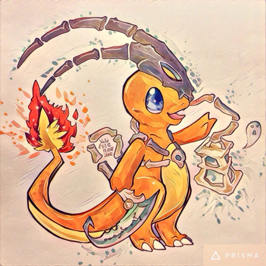Charmander in Thresh cosplay :3 by YuiteArts