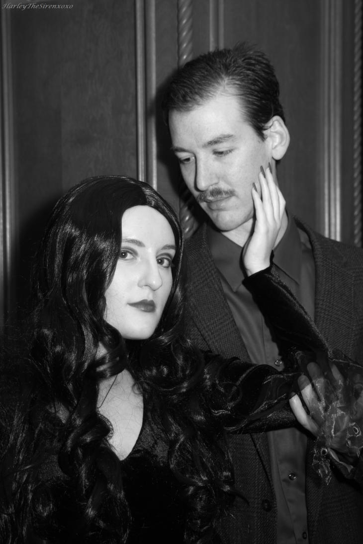 Morticia and Gomez Addams: Later, my Dearest by