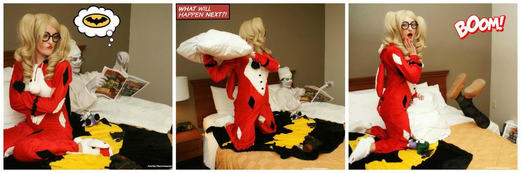 Harley Quinn And Joker Fighting Www Picsbud Com