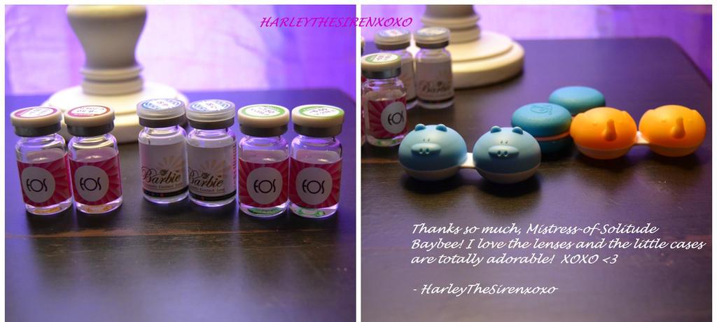Lenses from Mina! by HarleyTheSirenxoxo