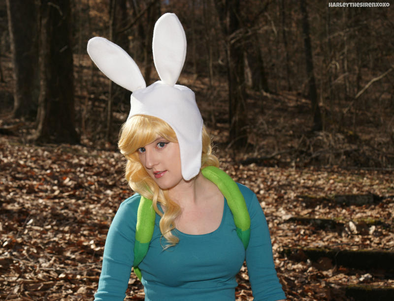 Fionna The Human:  Sideways Glance by HarleyTheSirenxoxo
