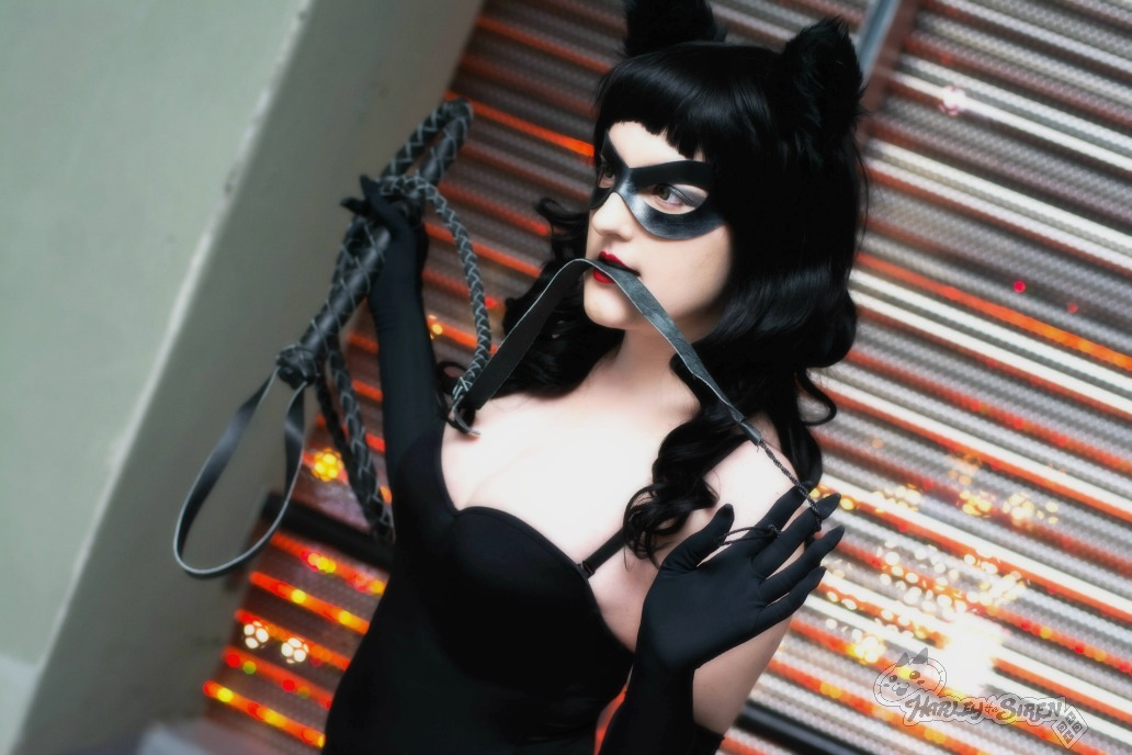 Rockabilly Catwoman: Flirting With The Bat by HarleyTheSirenxoxo