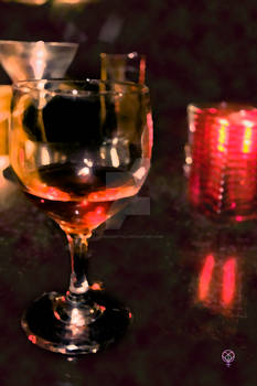 Glass by night
