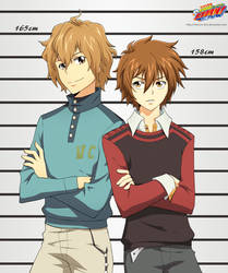 KHR OCs - And why are you so tall? by Venera-Taro