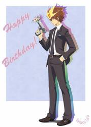 Happy Birthday Tsuna by Venera-Taro