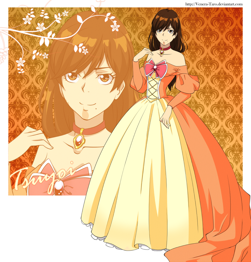 KHR OC - Tsuyoi - Ball gown by Venera-Taro on DeviantArt