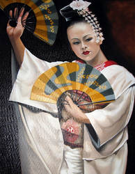 Geisha The Dance by mklanglo